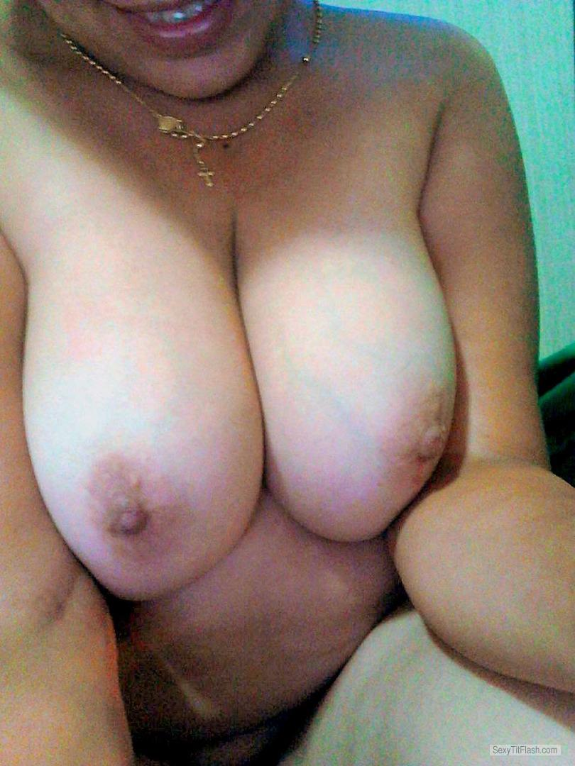 Very big Tits Of A Friend Selfie by WantTo